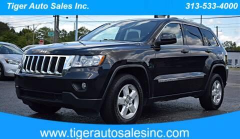 2012 Jeep Grand Cherokee for sale at TIGER AUTO SALES INC in Redford MI