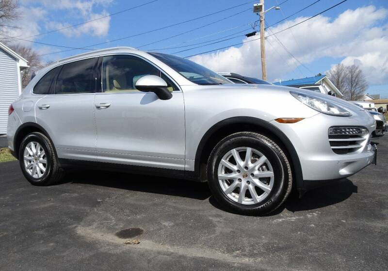 2012 Porsche Cayenne for sale at Great Lakes Classic Cars & Detail Shop in Hilton NY