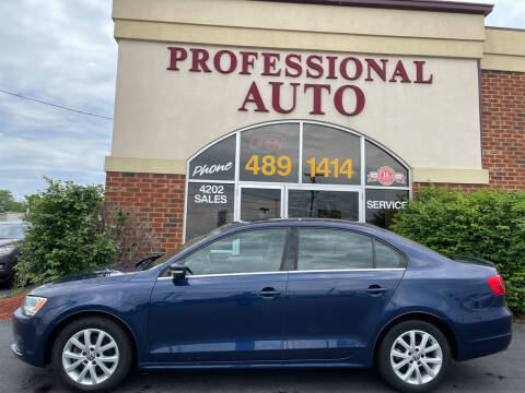 2014 Volkswagen Jetta for sale at Professional Auto Sales & Service in Fort Wayne IN