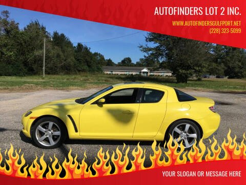2004 Mazda RX-8 for sale at Autofinders in Gulfport MS