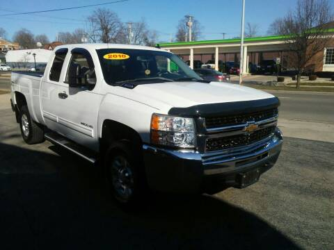2010 Chevrolet Silverado 2500HD for sale at BELLEFONTAINE MOTOR SALES in Bellefontaine OH