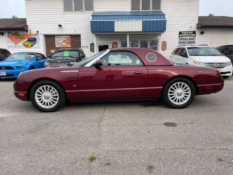 2004 Ford Thunderbird for sale at Twin City Motors in Grand Forks ND