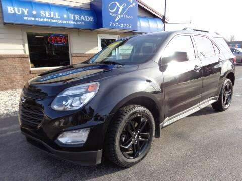 2017 Chevrolet Equinox for sale at VanderHaag Car Sales LLC in Scottville MI