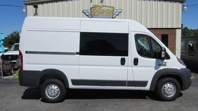 2018 RAM ProMaster Cargo for sale at Vans Of Great Bridge in Chesapeake VA