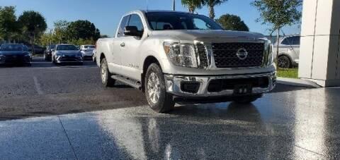 2018 Nissan Titan for sale at PHIL SMITH AUTOMOTIVE GROUP - Toyota Kia of Vero Beach in Vero Beach FL