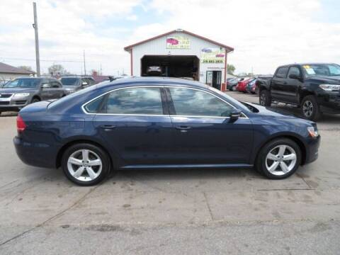 2013 Volkswagen Passat for sale at Jefferson St Motors in Waterloo IA