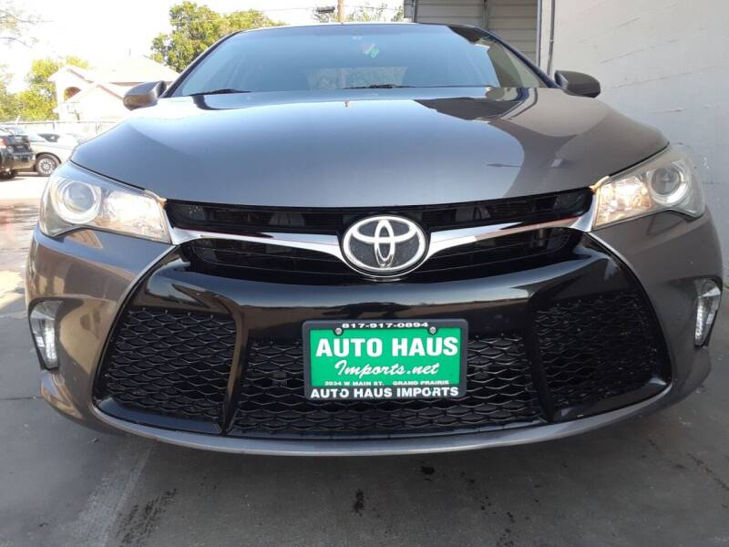 2017 Toyota Camry for sale at Auto Haus Imports in Grand Prairie TX