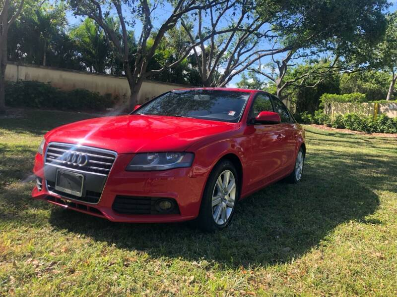 2011 Audi A4 for sale at GERMANY TECH in Boca Raton FL