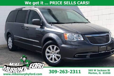 2016 Chrysler Town and Country for sale at Mike Murphy Ford in Morton IL