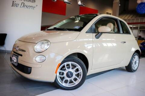 2012 FIAT 500 for sale at Quality Auto Center in Springfield NJ