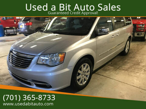 2011 Chrysler Town and Country for sale at Used a Bit Auto Sales in Fargo ND