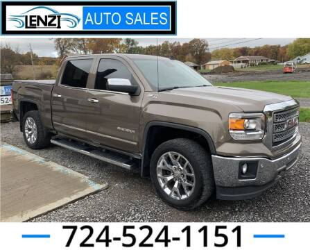 2014 GMC Sierra 1500 for sale at LENZI AUTO SALES in Sarver PA