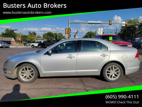 2012 Ford Fusion for sale at Busters Auto Brokers in Mitchell SD