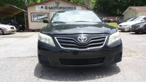 2010 Toyota Camry for sale at E-Motorworks in Roswell GA