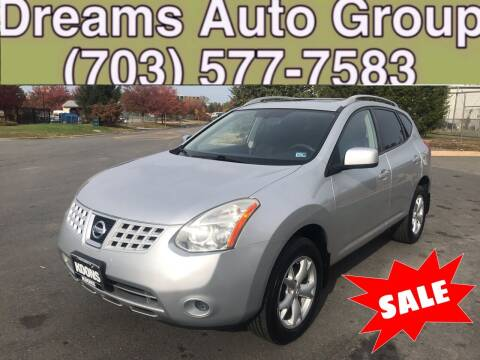 2008 Nissan Rogue for sale at Dreams Auto Group LLC in Sterling VA
