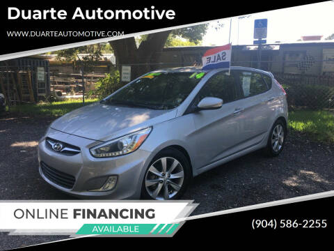 2014 Hyundai Accent for sale at Duarte Automotive in Jacksonville FL