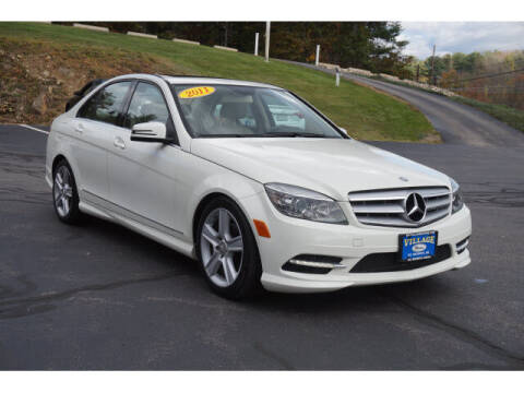 2011 Mercedes-Benz C-Class for sale at VILLAGE MOTORS in South Berwick ME