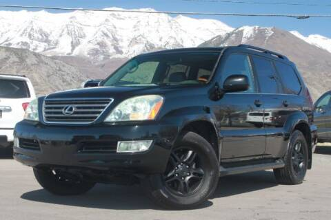2006 Lexus GX 470 for sale at REVOLUTIONARY AUTO in Lindon UT