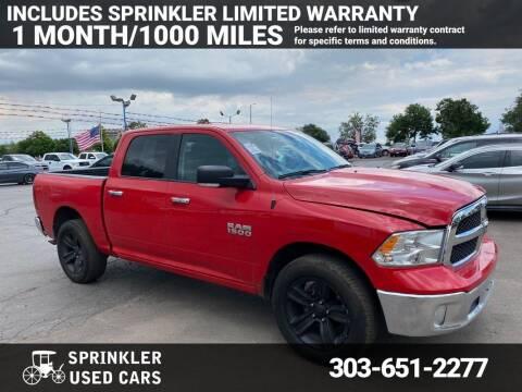 2016 RAM Ram Pickup 1500 for sale at Sprinkler Used Cars in Longmont CO