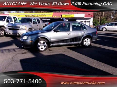2004 Volkswagen Jetta for sale at Auto Lane in Portland OR