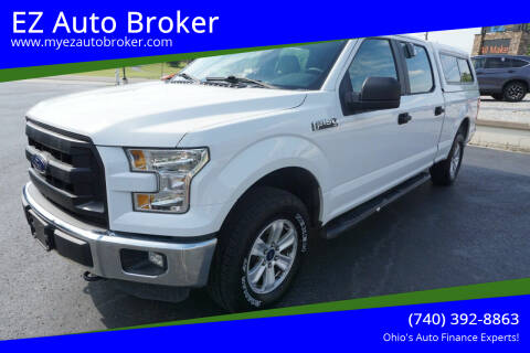 2016 Ford F-150 for sale at EZ Auto Broker in Mount Vernon OH