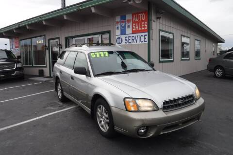 2003 Subaru Outback for sale at 777 Auto Sales and Service in Tacoma WA