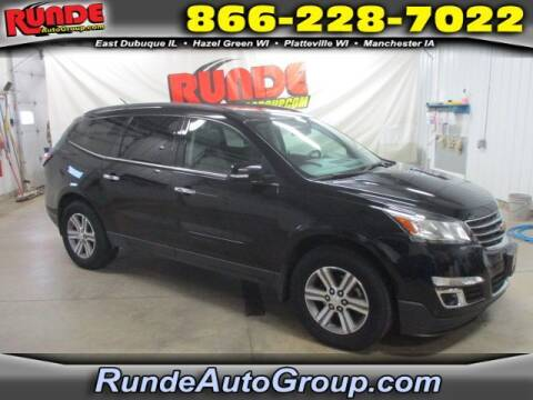 2016 Chevrolet Traverse for sale at Runde Chevrolet in East Dubuque IL
