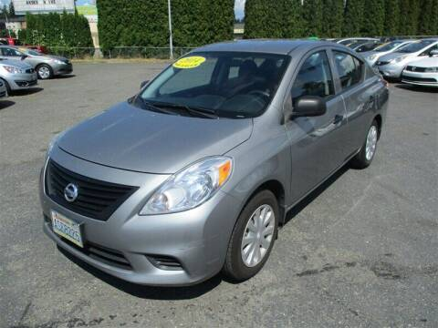 2014 Nissan Versa for sale at GMA Of Everett in Everett WA
