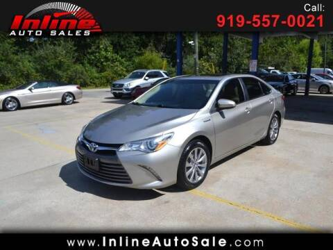 2015 Toyota Camry Hybrid for sale at Inline Auto Sales in Fuquay Varina NC