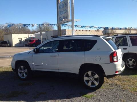 2014 Jeep Compass for sale at GIB'S AUTO SALES in Tahlequah OK