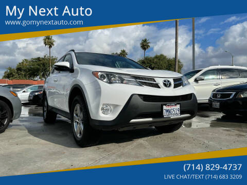 2015 Toyota RAV4 for sale at My Next Auto in Anaheim CA