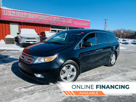 2012 Honda Odyssey for sale at LUXURY IMPORTS AUTO SALES INC in North Branch MN