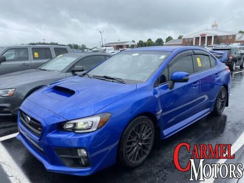 2017 Subaru WRX for sale at Carmel Motors in Indianapolis IN