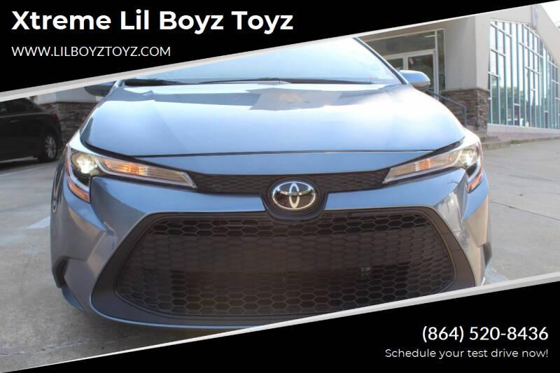 2020 Toyota Corolla for sale at Xtreme Lil Boyz Toyz in Greenville SC