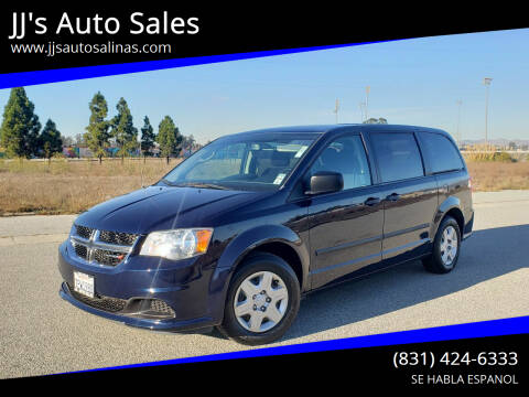 2012 Dodge Grand Caravan for sale at JJ's Auto Sales in Salinas CA