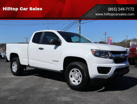 2016 Chevrolet Colorado for sale at Hilltop Car Sales in Knox TN