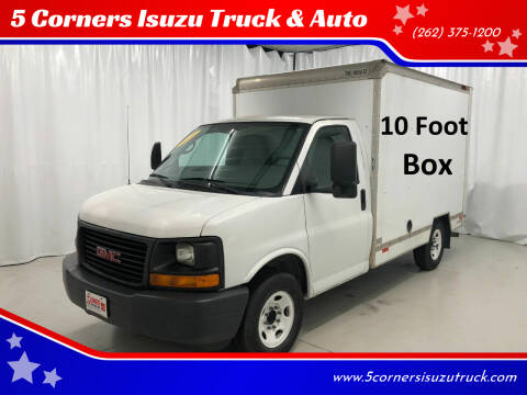 2010 GMC Savana Cutaway for sale at 5 Corners Isuzu Truck & Auto in Cedarburg WI