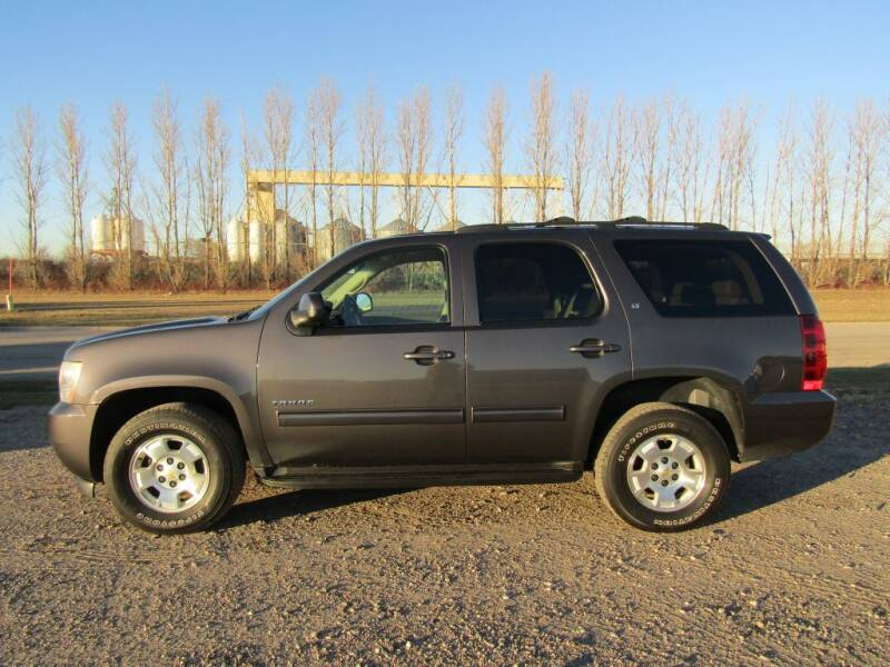 2010 Chevrolet Tahoe for sale at Elliott Auto Sales in Moorhead MN