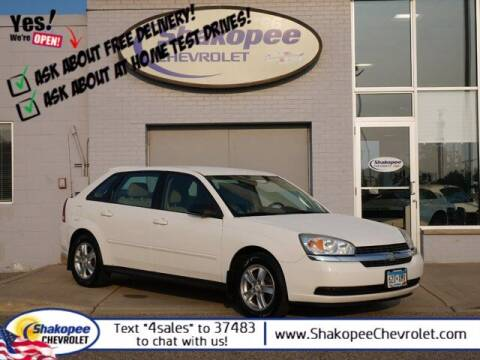 2005 Chevrolet Malibu Maxx for sale at SHAKOPEE CHEVROLET in Shakopee MN