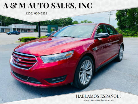 2014 Ford Taurus for sale at A & M Auto Sales, Inc in Alabaster AL