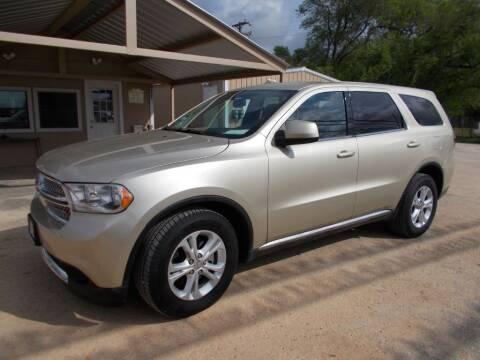 2012 Dodge Durango for sale at DISCOUNT AUTOS in Cibolo TX