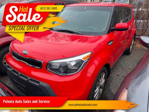 2015 Kia Soul for sale at Polonia Auto Sales and Service in Hyde Park MA