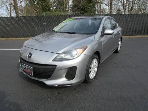 2012 Mazda MAZDA3 for sale at LULAY'S CAR CONNECTION in Salem OR