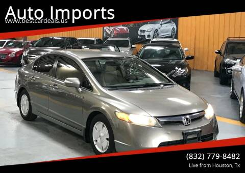 2008 Honda Civic for sale at Auto Imports in Houston TX