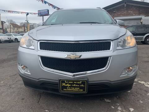 2012 Chevrolet Traverse for sale at Rallye  Motors inc. in Newark NJ