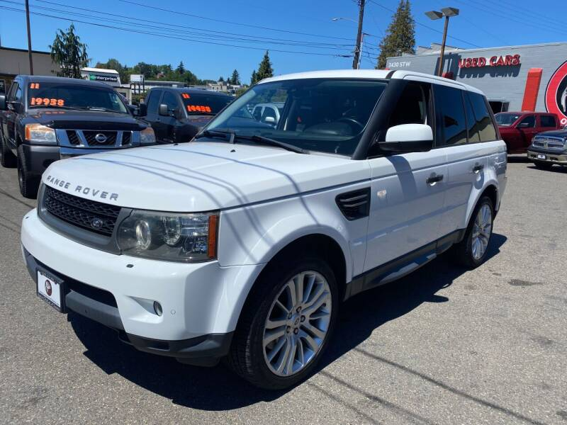 2011 Land Rover Range Rover Sport for sale in Tacoma, WA