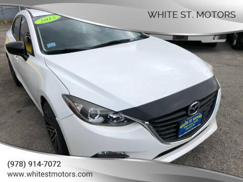2015 Mazda MAZDA3 for sale at White St. Motors in Haverhill MA