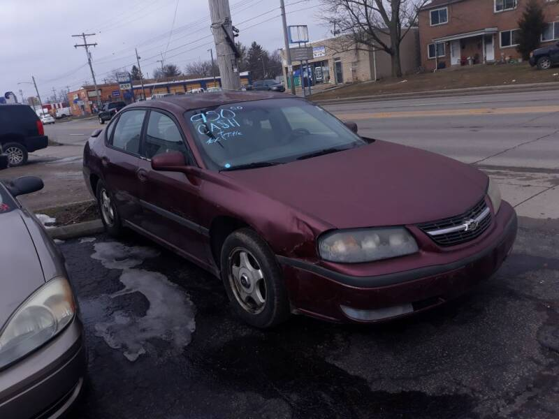 2000 Chevrolet Impala for sale at Flag Motors in Columbus OH