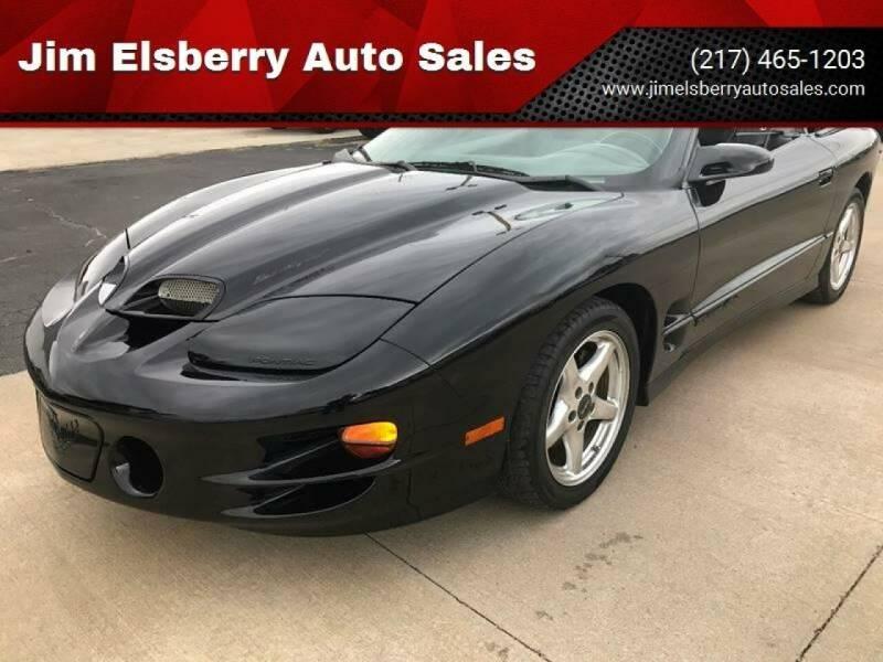 2000 Pontiac Firebird for sale at Jim Elsberry Auto Sales in Paris IL