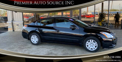 2010 Nissan Altima for sale at Premier Auto Source INC in Terre Haute IN